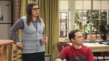 Amy And Sheldon Go Wedding-Venue Hunting On The Big Bang Theory