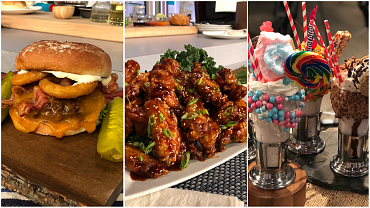 Chef Joe Isidori Cooks Up Texan Burgers, Korean BBQ Wings, And Bam Bam Shakes
