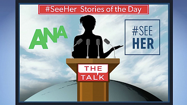 The Talk's #SeeHer Story Of The Day
