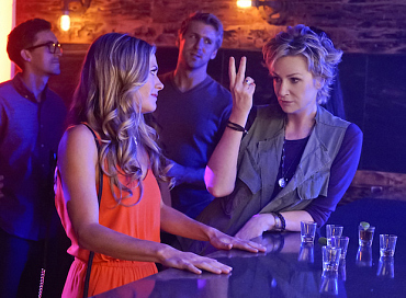 First Look: Amy Tries To Convince Allison To Let Loose On Angel From Hell