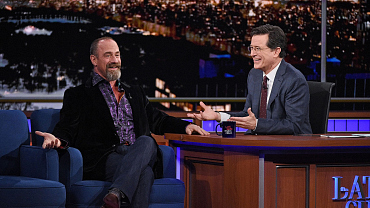Photos Of Christopher Meloni And More On The Late Show