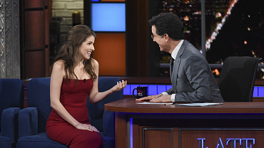 Photos Of Anna Kendrick And More On The Late Show