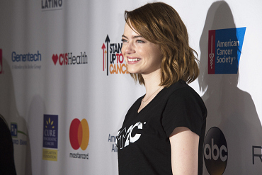 Celebrities Supporting Stand Up To Cancer