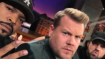 Late Late Show Guest Selfies