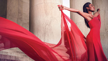 Madam Secretary's Patina Miller Stuns In This Monumental Shoot