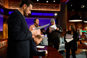 A TOTALLY unauthorized (authorized) look at Late Late Show Behind-The-Scenes