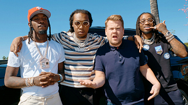 Behind The Scenes Photos From Carpool Karaoke With Migos