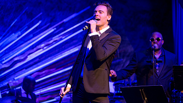 Erich Bergen Belts His Heart Out At New York City's Sony Hall