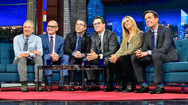 Colbert\'s Gonna Need A Bigger Couch For All His Friends
