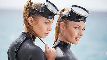 Victoria's Secret Angels Raise The Temp Before 2016 Swim Special