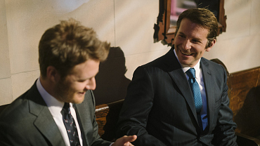 When The Cameras Stop: Bradley Cooper And Jake McDorman On The Limitless Set