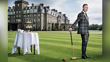 Instinct Star Alan Cumming Is One Dashing Lad In Scotland