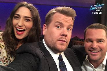 James Corden\'s Best Selfies With CBS Stars