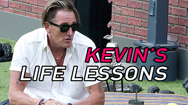Kevin Is Chock-Full Of Life Lessons On Big Brother