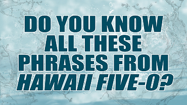 Do You Know All These Phrases From Hawaii Five-0?