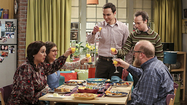 Sheldon And Amy Host A Fancy Brunch On The Big Bang Theory
