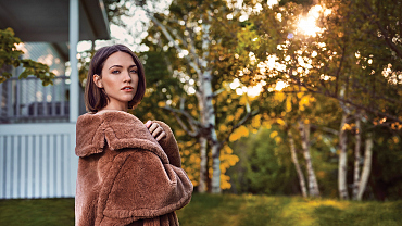 First Look: Beautiful New Photos Of Violett Beane From God Friended Me