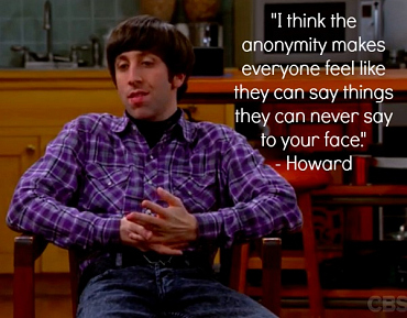 How to Deal With Online Trolls, According to the The Big Bang Theory