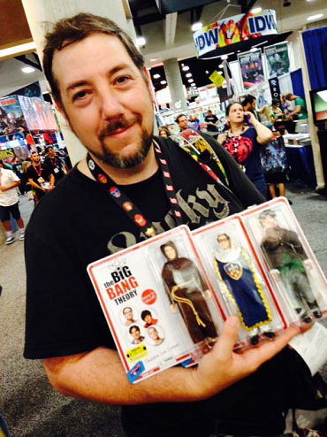 Fans Get In On The Big Bang Theory Action Figures & Toys