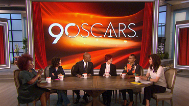 """""""The Talk"""" Discusses The Oscars Highlights And Lowlights"""