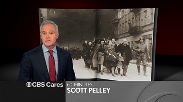 Scott Pelley On Holocaust Remembrance Day