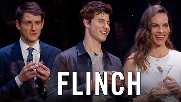 Flinch With Shawn Mendes, Hillary Swank And Zach Woods