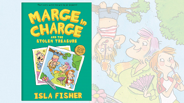 """""""Marge In Charge And The Stolen Treasure"""" By Isla Fisher"""