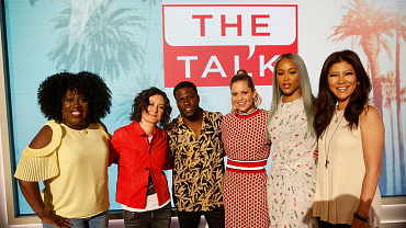 Kevin Hart Cracks Up The Hosts Of The Talk Discussing TKO