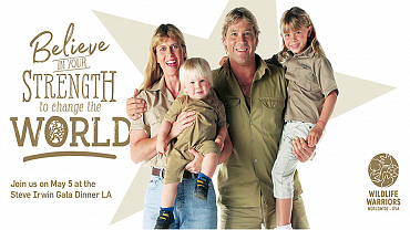 Learn About Wildlife Conservation At The Steve Irwin Gala Dinner