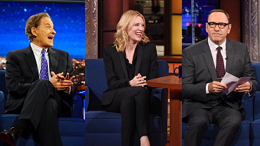 Tony Nominees Demonstrate Their Acting Chops On The Late Show