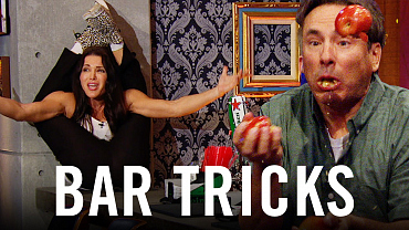How To Eat 3 Apples at Once - Stage 56 Bar Tricks