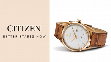 Citizen Watch Featuring Eco-Drive Technology