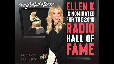 Vote Ellen K For The 2018 Radio Hall Of Fame