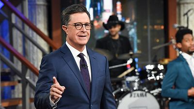 Stephen Colbert Dishes It Out Live Following Second Democratic Debate