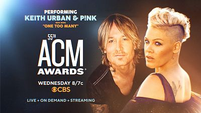 Keith Urban And Pink Join 2020 ACM Awards For