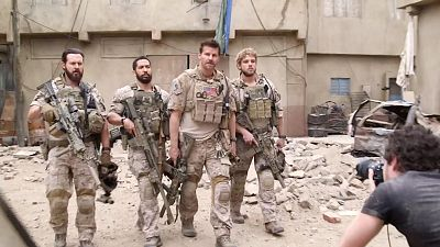 Go Behind-The-Scenes Of This SEAL Team Photo Shoot