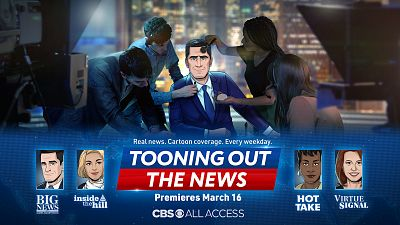 BREAKING: Tooning Out The News Launches Monday, Mar. 16 On CBS All Access