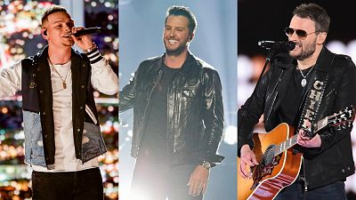 Eric Church, Luke Bryan, Kane Brown, And More Join 2020 ACM Awards Lineup
