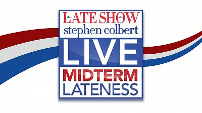 Live Midterm Elections Coverage Coming To The Late Show With Stephen Colbert