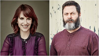 Megan Mullally And Nick Offerman To Play Clementine's Parents