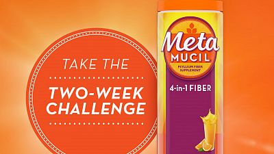 The Metamucil Two-Week Challenge: Day 1