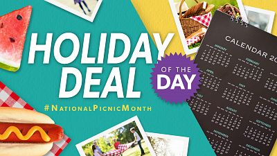 Holiday Deal Of The Day - #NationalPicnicMonth