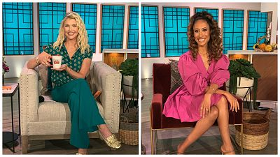 The Talk Names Amanda Kloots And Elaine Welteroth As New Hosts