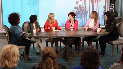 Anna Tells The Talk Hosts About Hanging Out At Allison's House