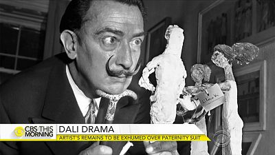 Artist Salvador Dalí to be exhumed over paternity suit