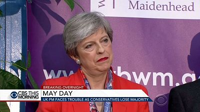 PM Theresa May vows to stay on after major blow in U.K. elections