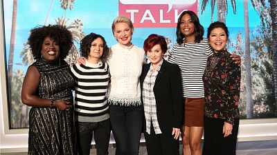Katherine Heigl Stops By The Talk To Discuss Her Baby And The Doubt Premiere