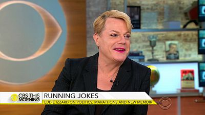 Comedian Eddie Izzard on new book, activism & plans to run for office