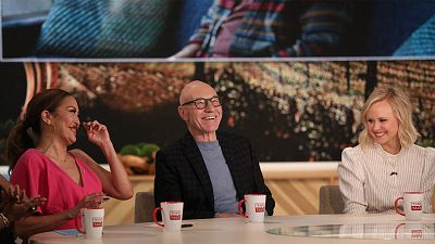 Patrick Stewart Plays A Cheeky Game On The Talk