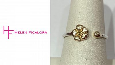 Helen Ficalora Cherry Blossom Dot Ring